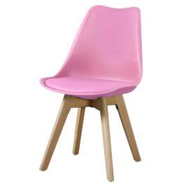 Casarredo Jídelní židle CROSS II růžová