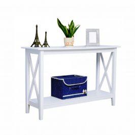 Tempo Kondela Konzolový stolek SONET - bílá
