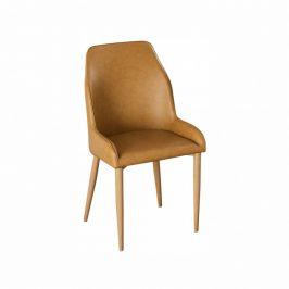 Tempo Kondela Jídelní židle IMPERIA - camel/buk