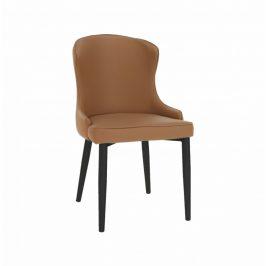 Tempo Kondela Jídelní židle SIRENA - hnědá/černá