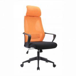 Tempo Kondela Kancelářské křeslo TAXIS, černá/oranžová