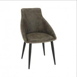 Tempo Kondela Jídelní židle DARAY - hnědá/černá
