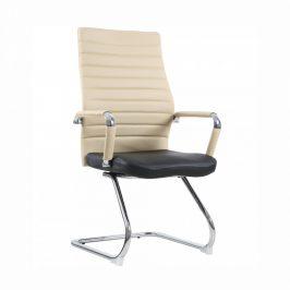Tempo Kondela Konferenční židle DRUGI TYP 2 - béžová / černá