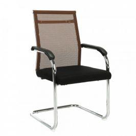 Tempo Kondela Konferenční židle ESIN - hnědá / černá
