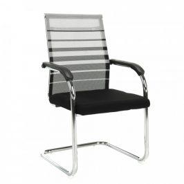 Tempo Kondela Konferenční židle ESIN - šedá / černá