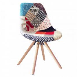 Tempo Kondela Jídelní židle GLORIA - patchwork
