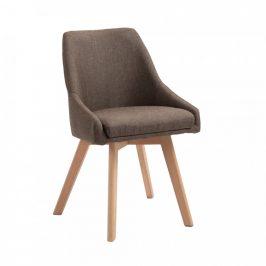 Tempo Kondela Jídelní židle TEZA, hněda/buk