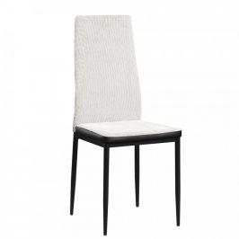 Tempo Kondela Jídelní židle ENRA - světle šedá /černá