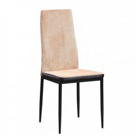 Tempo Kondela Jídelní židle ENRA - světle hnědá/černá