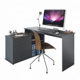 Tempo Kondela Univerzální rohový PC stůl TERINO - grafit