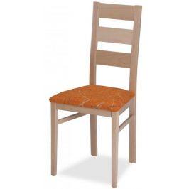 MIKO Jídelní židle Dunga - dub canyon, látka Friga 711