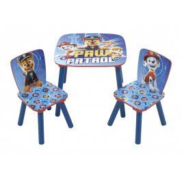 Arditex Dětský stůl s židlemi Tlapková Patrola - modrý STAR0006