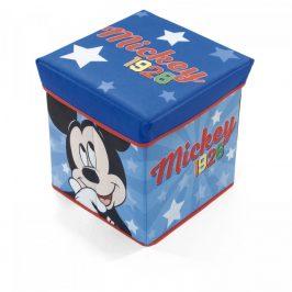 Arditex Úložný box na hračky Mickey s víkem