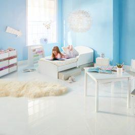 Moose Dětský stůl s židlemi Bílý