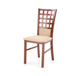 Halmar Jídelní židle GERARD 3 - antická třešeň/INARI 45