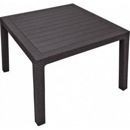 Rojaplast Stůl MELODY QUARTED - hnědý