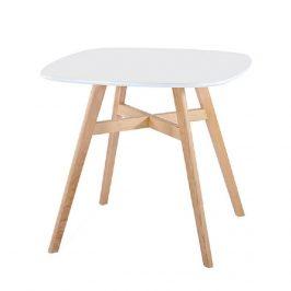 Tempo Kondela Jídelní stůl DEJAN 2 NEW - bílá/přírodní