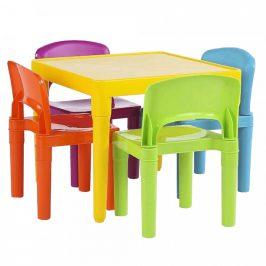 Tempo Kondela Dětský set 1+4 ZILBO, vícebarevný