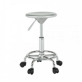 Tempo Kondela Židle MABEL 3 NEW - stříbrná/chrom