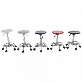 Tempo Kondela Židle MABEL 3 NEW - bílá/chrom