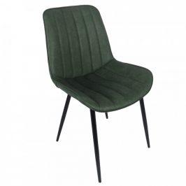 Tempo Kondela Židle HAZAL - zelená/černá