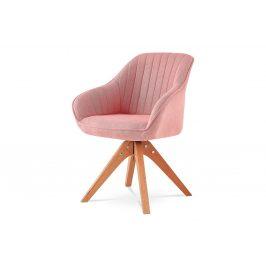 Autronic Jídelní židle HC-770 PINK2 - růžová