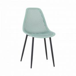 Tempo Kondela Jídelní židle TEGRA - zelená/černá
