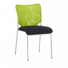 Tempo Kondela Konferenční židle ALTAN - zelená/černá