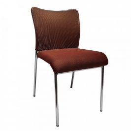 Tempo Kondela Konferenční židle ALTAN - hnědá/chrom