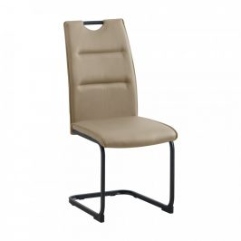 Tempo Kondela Jídelní židle MEKTONA - světle hnědá/černá