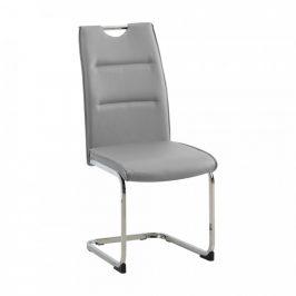Tempo Kondela Jídelní židle TOSENA - světle šedá
