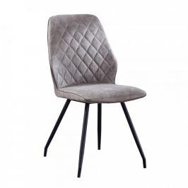 Tempo Kondela Jídelní židle HERDA - šedá