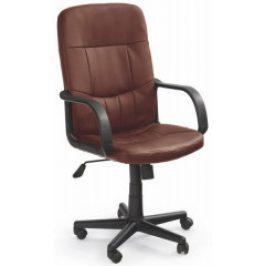 Halmar Kancelářská židle Denzel Tmavě hnědá