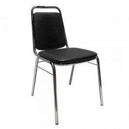 Tempo Kondela Konferenční židle ZEKI - černá ekokůže