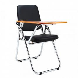 Tempo Kondela Židle s deskou na psaní SONER - černá/přírodní