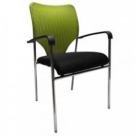 Tempo Kondela Konferenční židle UMUT - zelená/černá