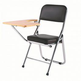 Tempo Kondela Židle s deskou na psaní TEKER - černá/přírodní