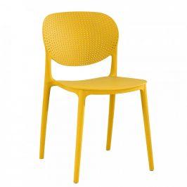 Tempo Kondela Židle FEDRA - žlutá