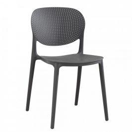 Tempo Kondela Židle FEDRA - tmavě šedá