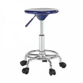 Tempo Kondela Židle MABEL 3 NEW - modrá/chrom