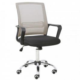 Tempo Kondela Kancelářská židle APOLO - šedohnědá Taupe/černá
