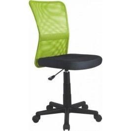 Halmar Dětská židle Dingo Zeleno-černá