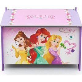 Forclaire Dřevěná truhla na hračky Princess I