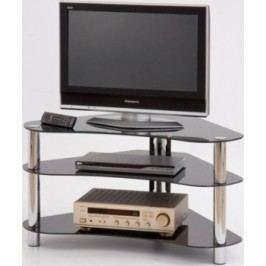 Halmar Televizní stolek RTV-13 - černé sklo
