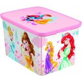 Curver Dětský úložný box DECOBOX - L - PRINCESS