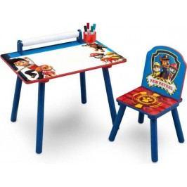 Forclaire Dětský kreslící stůl Tlapková patrola