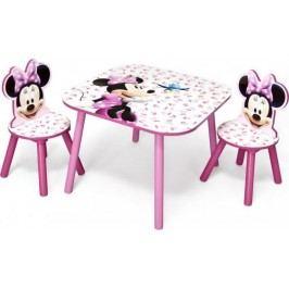 Forclaire Dětský stůl s židlemi Minnie III