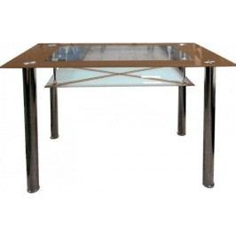 Falco Jídelní stůl B 175 hnědý Jídelní stoly