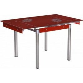 Falco Jídelní stůl FAL-082 červený Jídelní stoly