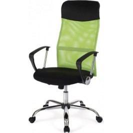 Autronic Kancelářská židle KA-E300 WT - Opěrák bílý + kupón KONDELA10 na okamžitou slevu 10% (kupón uplatníte v košíku)